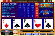 Play Free Jacks or Better Video Poker