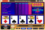 Play Free 10s or Better Video Poker